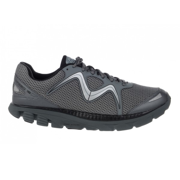 MBT Speed 16 - Mens Running Shoes - Black Cool Grey  4eba766353a4
